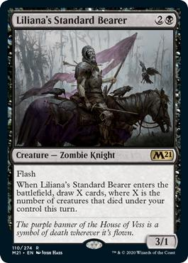Liliana's Standard Bearer - Core Set 2021