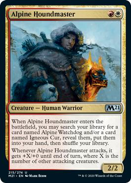 Alpine Houndmaster - Core Set 2021