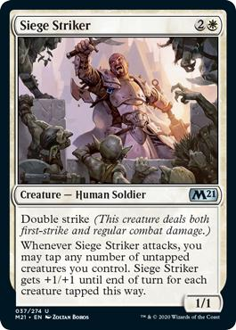 Siege Striker - Core Set 2021