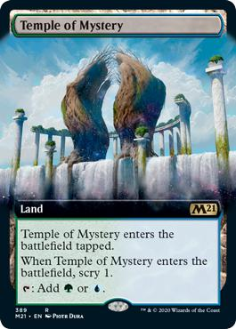 Temple of Mystery - Core Set 2021