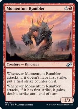 Momentum Rumbler - Ikoria: Lair of Behemoths