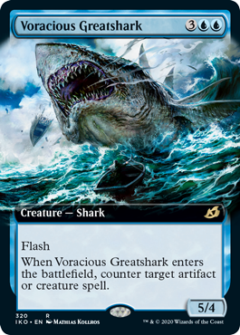 Voracious Greatshark - Ikoria: Lair of Behemoths