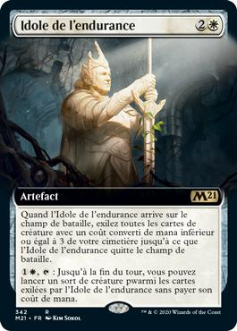 Idole de l'endurance - Core Set 2021