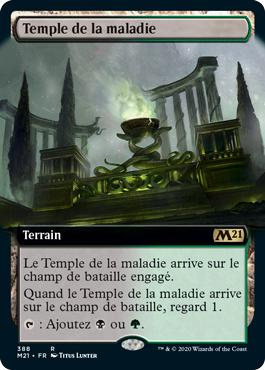 Temple de la maladie - Core Set 2021